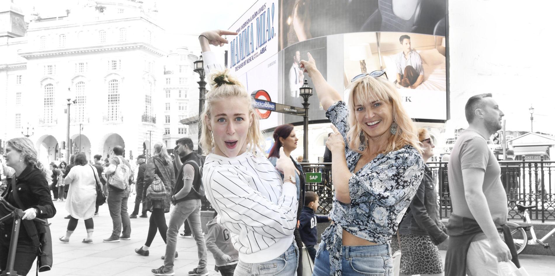 Mamma Mia Annette Heick og Zeuner 2019 london tur